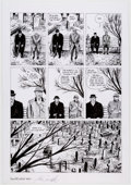 Original Comic Art:Panel Pages, Eddie Campbell From Hell #10 Epilogue Story Page 6 Original Art (Mad Love Publishing, 1996)....