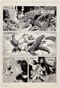 Original Comic Art:Panel Pages, John Buscema and Neal Adams Savage Tales #7 Page 53 Original Art (Marvel Comics, 1974). ...