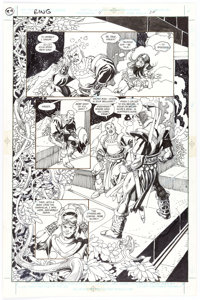 Gil Kane The Ring of the Nibelung #4 Story Page 24 Original Art (DC, 1990)