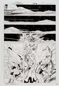 Original Comic Art:Panel Pages, John Byrne and Mark Farmer JLA: Classified #52 Story Page 21 (DC Comics, 2008)....
