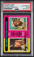 """Autographs:Sports Cards, Signed 1975 Topps Roger Maris """"1961 MVP"""" Card PSA/DNA Authentic. ..."""