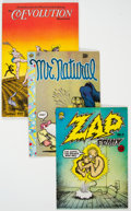 Silver Age (1956-1969):Humor, Robert Crumb Comic Group of 20 (Various Publishers, 1967-98)....(Total: 20 )