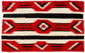 American Indian Art:Weavings, A Navajo Man's Wearing Blanket. Third Phase Chief's Pattern. c.1920...