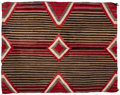 American Indian Art:Weavings, A Navajo Woman's Wearing Blanket. c. 1910...