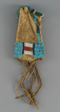 American Indian Art:Beadwork and Quillwork, A Sioux Paint Pouch...