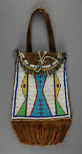 American Indian Art:Beadwork and Quillwork, A Plains Dispatch Case   c. 1900 comme...