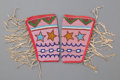 American Indian Art:Beadwork and Quillwork, A Pair of Plateau Beaded Hide Cuffs... (Total: 2 Items)