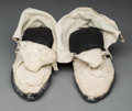 American Indian Art:Kachina Dolls, A Pair of Pueblo Moccasins. ... (Total: 2 Items)