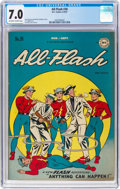 Golden Age (1938-1955):Superhero, All-Flash #30 (DC, 1947) CGC FN/VF 7.0 Off-white to white pages....