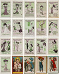 Political:Small Paper (1896-present), Woman's Suffrage: Collection of Twenty Wonderful Satirical Post Cards.. ...