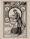 Political:Small Paper (1896-present), [Woman's Suffrage]: Outstanding Anti-Suffrage Sheet Music.. ...