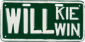 Political:3D & Other Display (1896-present), Wendell Willkie: Unusual License Plate....