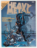 Magazines:Science-Fiction, Heavy Metal #1 (HM Communications, 1977) Condition: VF....