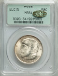 Commemorative Silver, 1936 50C Elgin MS64 PCGS. Gold CAC. PCGS Population: (1809/3851). NGC Census: (853/2382). CDN: $150 Whsle. Bid for problem-...
