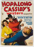 Pulps:Western, Hopalong Cassidy's Western Magazine V1#1 (Best Books, 1950) Condition: VG....