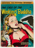 Golden Age (1938-1955):Crime, The Case of the Winking Buddha #nn (St. John, 1950) Condition: GD....