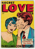 Golden Age (1938-1955):Romance, Fox Giants: Secret Love Stories (Fox Features Syndicate, 1949)Condition: FN-....