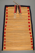 American Indian Art:Pipes, Tools, and Weapons, A Blackfoot Tipi Backrest. c. 1890...