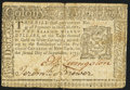Colonial Notes:New York, New York September 2, 1775 $2 Extremely Fine.. ...