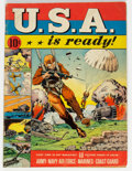 U.S.A. Is Ready #1 (Dell, 1941) Condition: GD/VG