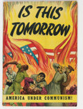 Golden Age (1938-1955):Religious, Is This Tomorrow #1 (Catechetical Guild, 1947) Condition: GD/VG....