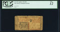 Colonial Notes:New Jersey, New Jersey April 8, 1762 30s PCGS Fine 12. Edg...
