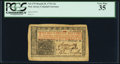 Colonial Notes:New Jersey, New Jersey March 25, 1776 12s PCGS Very Fine 35.
