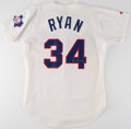 Autographs:Others, Nolan Ryan Signed Jersey and Baseball Lot of 3. Of...