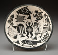 American Indian Art:Pottery, An Acoma Black-On-White Pictorial Bowl . John F. Aragon...