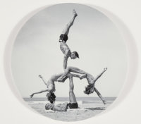 Jeff Koons X Bernardaud WOW (Works on Whatever), 2011 Porcelain plate 10-1/2 inches (26.7 cm) dia