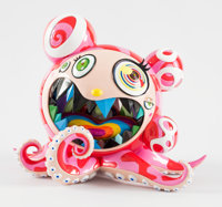 Takashi Murakami X ComplexCon Mr. Dob, 2017 Painted cast vinyl 10-1/2 x 12-1/2 x 10-1/2 inches (2