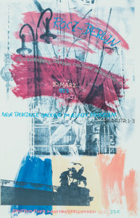 Robert Rauschenberg (b. 1925-2008) ROCI, 1990 Offset print in colors on paper 37-3/4 x 24-3/4 inc