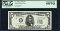 Fr. 1962-J $5 1950A Federal Reserve Note. PCGS Superb Gem New 68PPQ