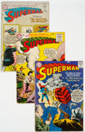 Silver Age (1956-1969):Superhero, Superman Group of 6 (DC, 1955-61) Condition: Average VG.... (Total:6 )