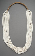 American Indian Art:Jewelry and Silverwork, A Pueblo Shell Necklace. c. 1975...