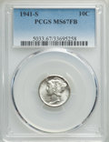 Mercury Dimes: , 1941-S 10C MS67 Full Bands PCGS. PCGS Population: (382/14). NGC Census: (407/13). CDN: $150 Whsle. Bid for problem-free NGC...