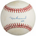 Autographs:Baseballs, Muhammad Ali Single Signed Baseball....