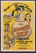 Baseball Collectibles:Others, 1954 Roogie's Bump Original Movie Poster....