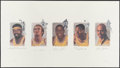 "Basketball Collectibles:Others, Los Angeles Lakers ""Legends"" Multi-Signed Lithograph...."