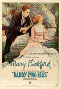 "Movie Posters:Comedy, Daddy Long Legs (First National, 1919). Fine- on Linen. One Sheet(27.25"" X 41.25"").. ..."