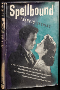 Spellbound by Francis Beeding (World Publishing Company, 1945) Fine/Very Fine. Movie Edition Hardcover Book (192 Pages...