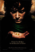 "Movie Posters:Fantasy, The Lord of the Rings: The Fellowship of the Ring (New Line, 2001).Rolled, Very Fine. One Sheet (27"" X 40"") SS Advance. Fan..."