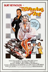 """Stroker Ace & Other Lot (Universal, 1983). Rolled, Overall: Fine/Very Fine. One Sheets (3) (27"""" X 41"""")..."""