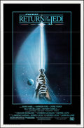 "Movie Posters:Science Fiction, Return of the Jedi (20th Century Fox, 1983). Folded, Very Fine. OneSheet (27"" X 41"") Style A, Tim Reamer Artwork. Science F..."