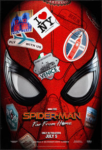 """Spider-Man: Far from Home (Sony, 2019). Rolled, Very Fine. One Sheet (27"""" X 40"""") SS Advance. Action"""