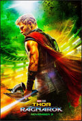 "Movie Posters:Action, Thor: Ragnarok (Walt Disney Studios, 2017). Rolled, Very Fine+. One Sheet (27"" X 40"") DS Advance. Action.. ..."