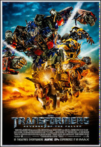 "Transformers: Revenge of the Fallen (Paramount, 2009). Rolled, Very Fine+. Printer's Proof One Sheets (2) (28"" X 41..."