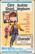 "Movie Posters:Mystery, Charade (Universal, 1963). Folded, Fine/Very Fine. One Sheet (27"" X41""). Mystery.. ..."