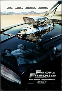 """Fast & Furious & Other Lot (Universal, 2009). Rolled, Very Fine+. One Sheets (2) (26.75"""" X 39.75"""" &..."""