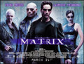 "Movie Posters:Science Fiction, The Matrix (Warner Brothers, 1999). Rolled, Very Fine-. Subway (60""X 46""). Science Fiction.. ..."